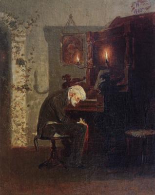 Mikhail Vasilyevich Nesterov. Pianist