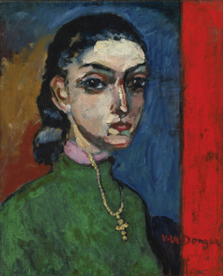 Kees Van Dongen. Girl with a cross. Around 1908