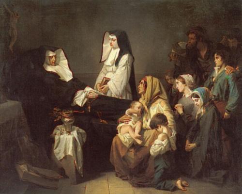 Изидор Пильс. Смерть сестры милосердия