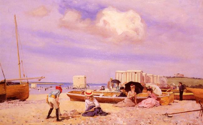 Фрэнк Чейз. Пляж