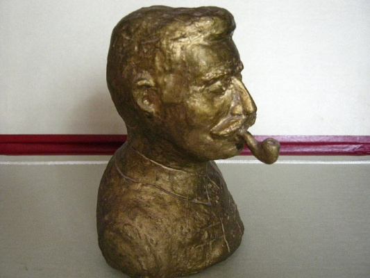 Alexey Grishankov (Alegri). Man with pipe