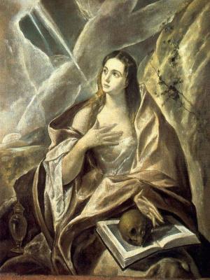 Domenico Theotokopoulos (El Greco). Penitent Mary Magdalen