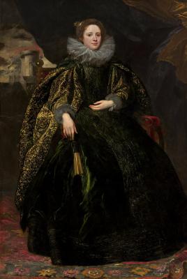 Антонис ван Дейк. Портрет маркизы Бальби