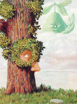 René Magritte. Alice in Wonderland