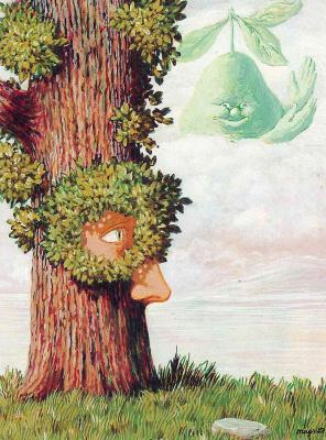 René Magritte. Alice in Wonderland