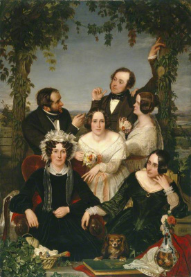 Ford Madox Brown. Family Bromley