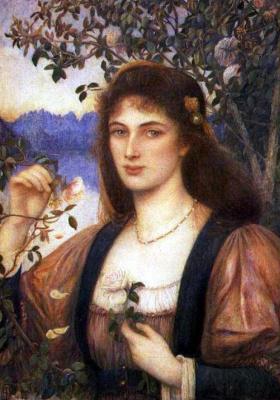 Мария Евфросина Спартали Стиллман. Rose from the Garden of Armida