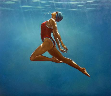 Эрик  Зенер. Танец под водой