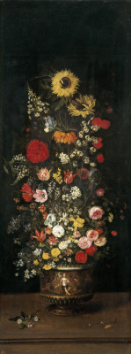 Jan Bruegel The Elder. Vase with Flowers