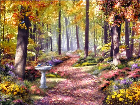 Алан Гиана. Путь в лесу