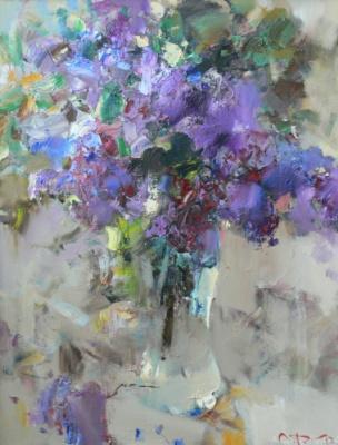 Alexander Vladimirovich Gorbikov. A bouquet of lilacs.