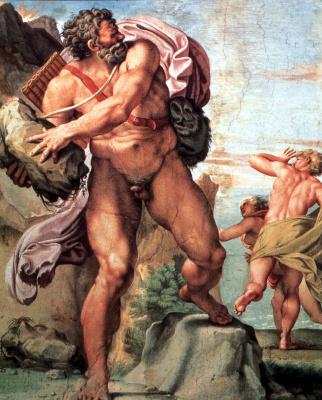 Annibale Carracci. Cyclops Polyphemus