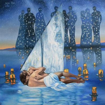 Lisa Ray. Sailboat hope