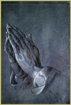 Альбрехт Дюрер. Исследования рук