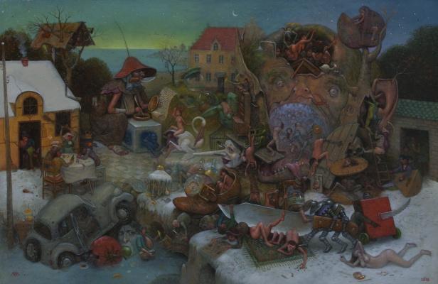 Lobi Micha. Christmas Eve