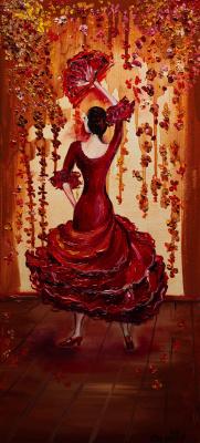 """Alla Struchayeva. Picture """"Carmen"""""""