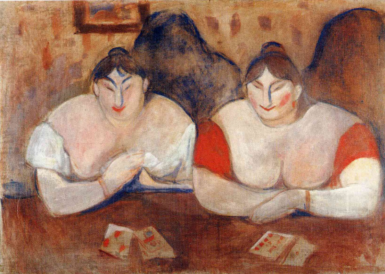 Edward Munch. Rose and Amelie