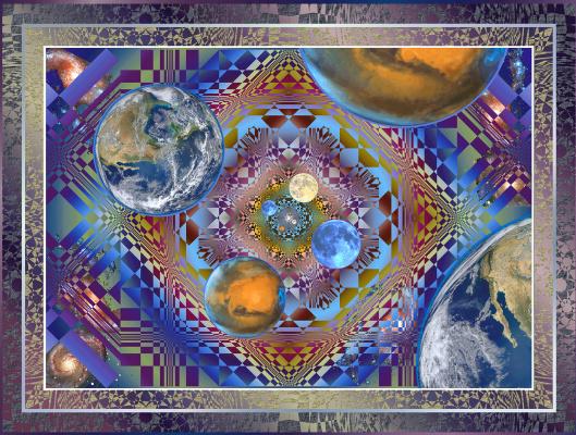 "Юрий Николаевич Сафонов (Yury Safonov). Designer star systems, ""Incubator planet"""