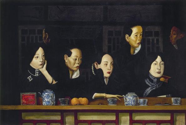 Alexander Yakovlev. Women's Lodge of the Beijing Opera