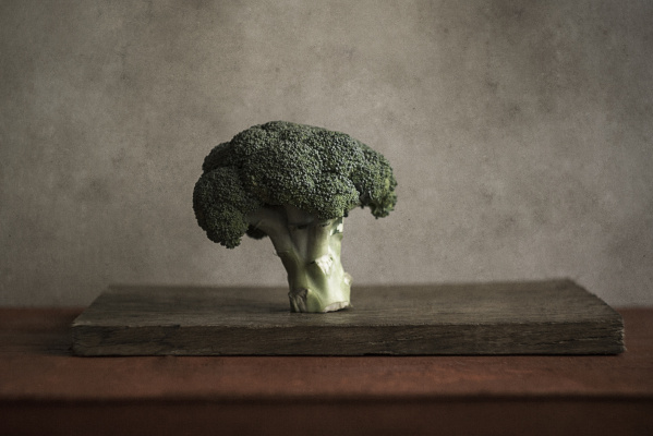 Volha Aliakseichyk. Mr. Broccoli