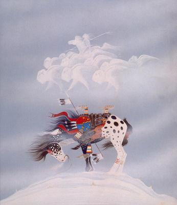 Ранс Худ. Лошадь