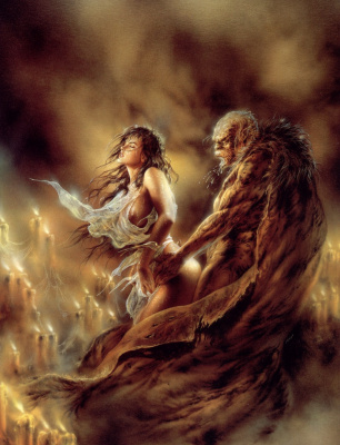 Luis Royo. Secret sign