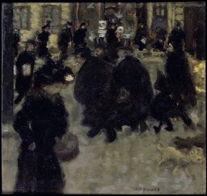 Пьер Боннар. Люди на улице