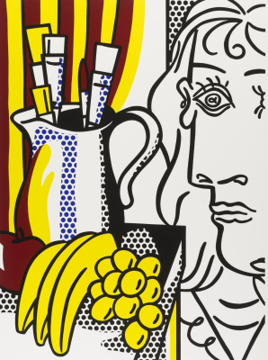 Roy Liechtenstein. Dedication. Still life with Picasso