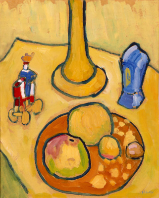 Gabriele Münter. Yellow still life