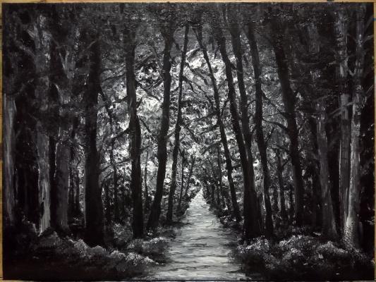Zifa Abdullina. Mysterious Forest