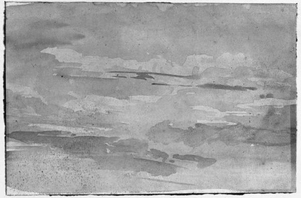 John Constable. Cloud sketch