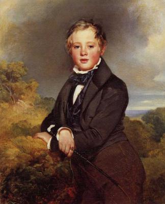 Franz Xaver Winterhalter. Ludwig, Graf von Langenstein