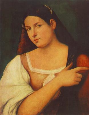 Себастьяно дель Пьомбо. Портрет девушки