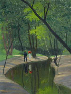Felix Vallotton. The Bois de Boulogne