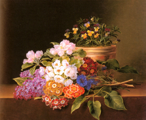 Йохан Лоренц Дженсен. Яблоневый цвет