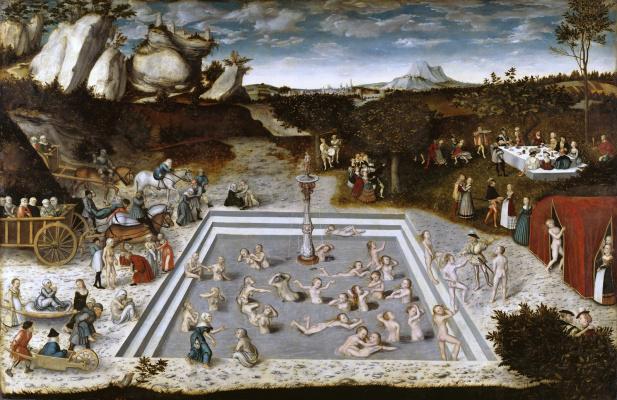 Lucas Cranach the Elder. The fountain of youth