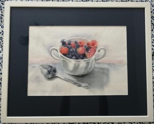 Polina Komkova. Berry dessert