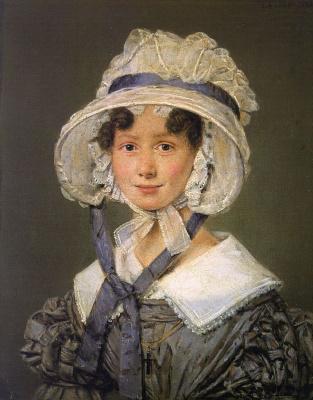 Дженсен. Женщина в белой шляпе