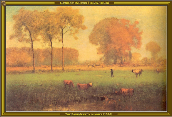 George Innes. Saint-Martin. Summer