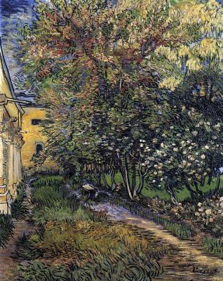 Винсент Ван Гог. Сад у больницы Святого Павла