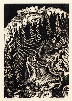 Ernst Ludwig Kirchner. Three roads