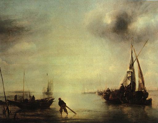 Ван Ян Каппель. Рыбак