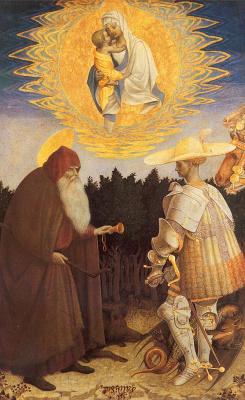 Antonio Pisanello. Intercessor
