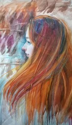 Lika Kondratsionova. Portrait of Sonya.