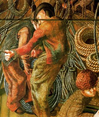 Stanley Spencer. Ropes