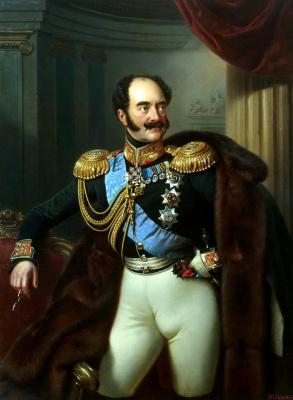 Franz Kruger. Portrait of count Vladimir Adlerberg