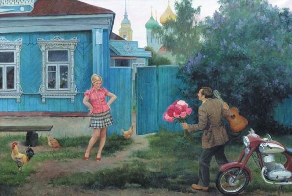 Филипп Вячеславович Кубарев. Опоздал на полчаса