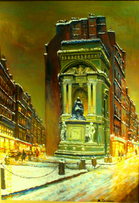 Андрей Доманин. Париж 1