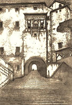 Иван Александрович Фомин. Лестницы Рима