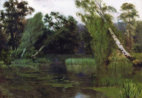 Isaac Levitan. In the Park